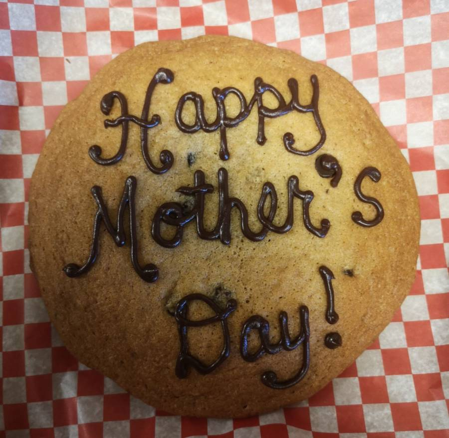 Happy mother's day cookie